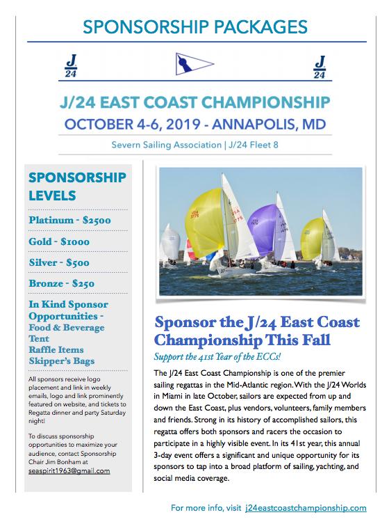 J24 ECC Sponsorship